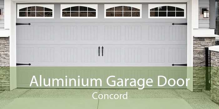 Aluminium Garage Door Concord