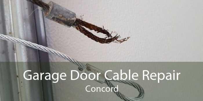 Garage Door Cable Repair Concord