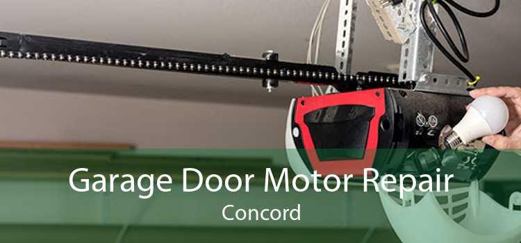 Garage Door Motor Repair Concord