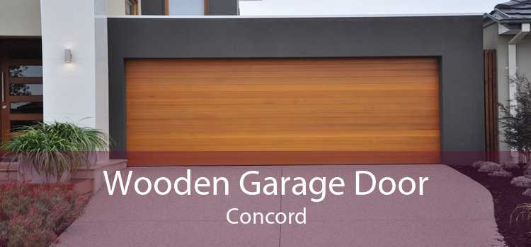 Wooden Garage Door Concord